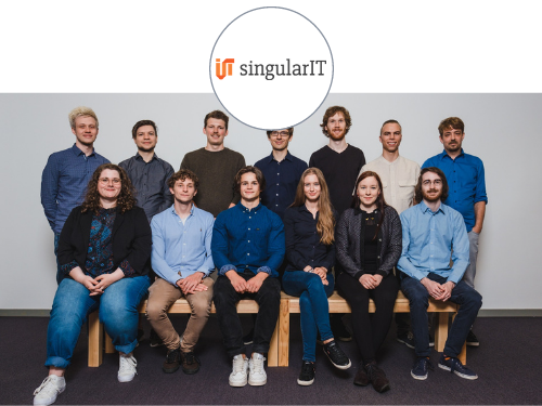 singularIT Job CTAs Headerbild