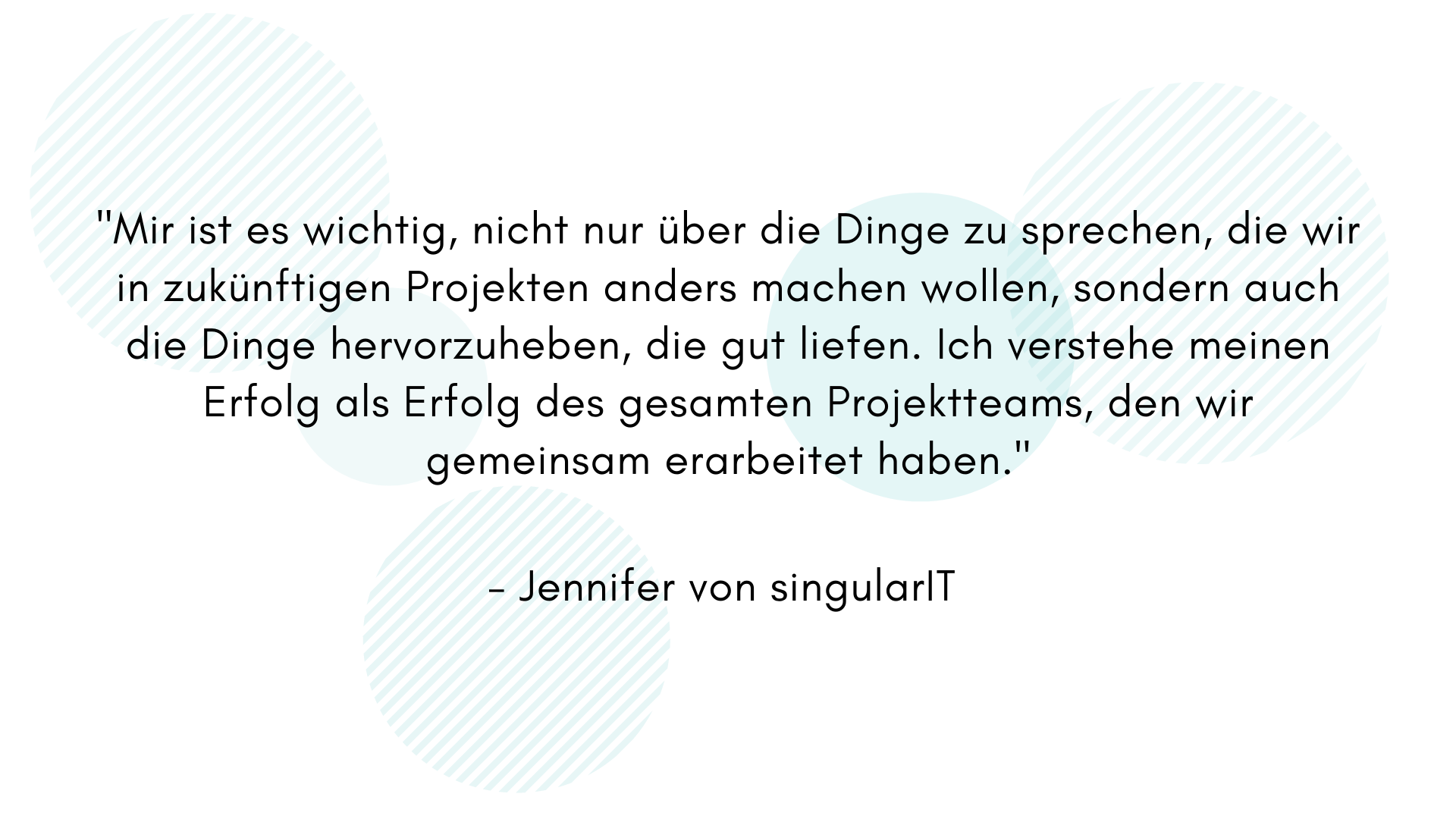 Zitat von Jennifer singularIT