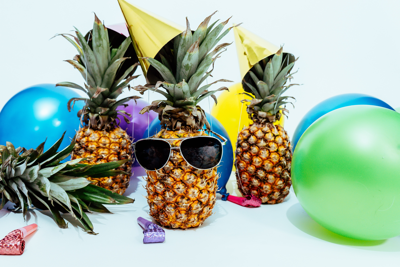 Ananas Partybild
